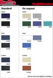 Zwaardvis kleurkaart