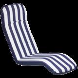 Comfort Seat - Classic - Extra Large Plus - Blauw/wit gestreept