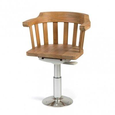Luxe Teak stuurstoel - bootstoel.
