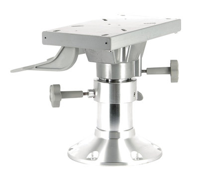VETUS handmatig verstelbare aluminium stoelpoot. (3 hoogtes)