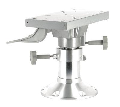VETUS handmatig verstelbare aluminium stoelpoot.