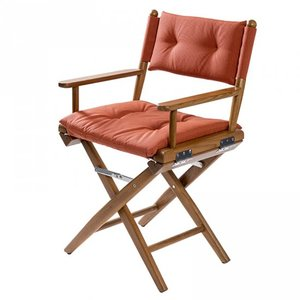 Teak Regisseursstoel forza orange