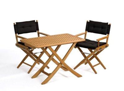 ARC Teak inklapbare tafel Mallorca 125x80 cm