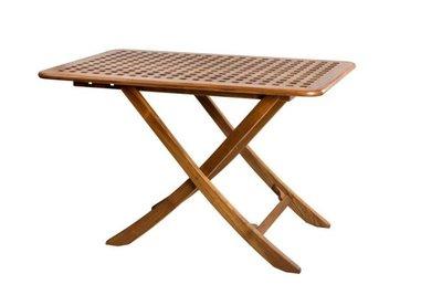 ARC Teak Inklapbare tafel Ibiza 100 x 60 cm