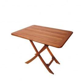 ARC  teak inklapbare tafel Bretagne 110x70 cm - geolied